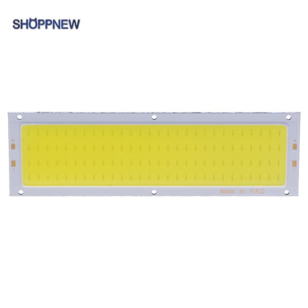 Shop_12V 10W Cob แผงไฟ Led สายไฟ 120X36 มม. สีขาวอบอุ่น