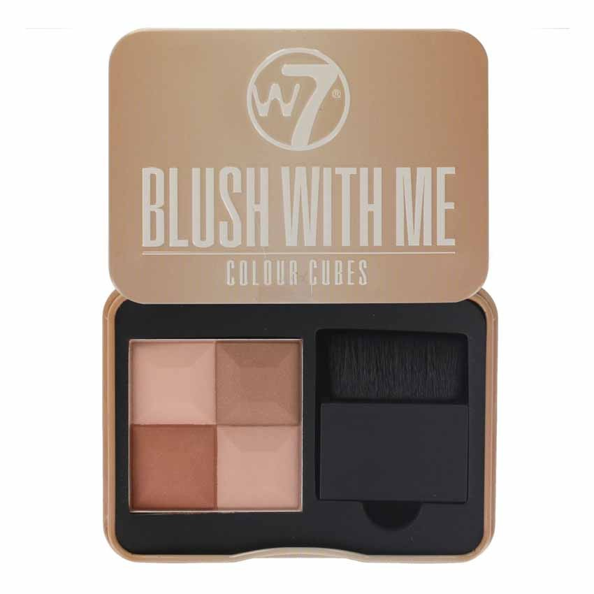 W7 Blush With Me Colour Cubes Blusher#Cassie Mac