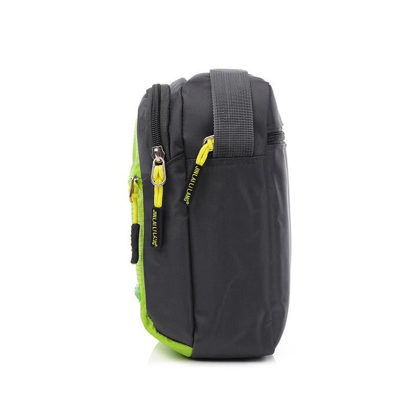♞┋✲กีฬาใหม่ไหล่ข้าง Messenger กระเป๋าสะพายหลังเดินทางแฟชั่นเกาหลีอินเทรนด์หญิงกระเป๋าไนลอนผ้าใบผู้ชายกระเป๋าใบเล็ก