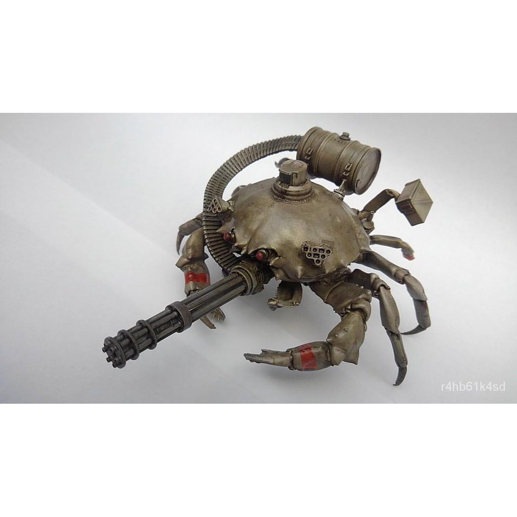 Resin Figure Kit Tank Dramon Crab Tank Unainted Garage Resin Kit#¥%¥# WDmI