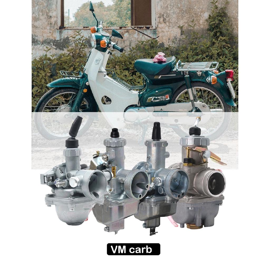 คาร์บูเรเตอร์ Mikuni Vm 16 Vm 22 Vm 26 Vm 28 19 มม . 26 มม . 30 มม . 32 มม . สําหรับรถจักรยานยนต์ 50-200 Cc Dirt Pit Atv Quad Quad Quad