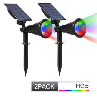 Solar Lawn Lamp 4 Beads Outdoor