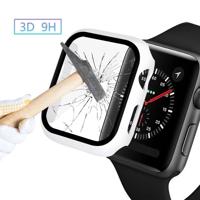 พร้อมส่ง!! เคสกันรอย คลุมรอบหน้าจอ เคสสำหรับ Applewatch (ใส่ได้เลยโดยไม่ต้องติดฟิล์มกระจก)case สำหรับ AppleWatch hzBj