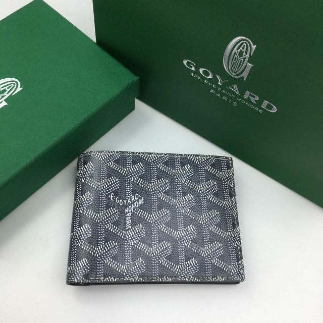 NEW GOYARD MEN WALLET IN GREY