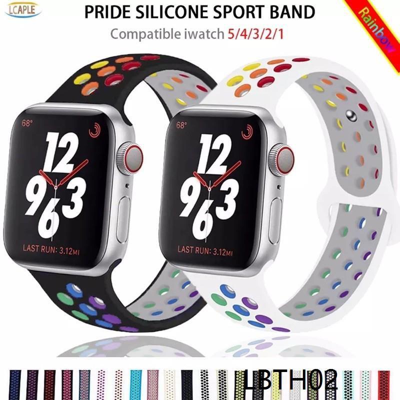 🔥New🔥 สาย Apple Watch Sport BAND FOR Series 1,2,3,4,5 สายนาฬิกา