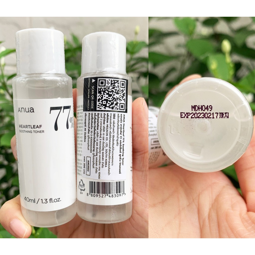 Anua Heartleaf 77% Soothing Toner 40ml-*-