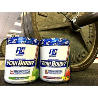 ✨Rc​ Ronnie​ coleman's  Yeah Buddy​ Pre-workout 30 servings.(เพิ่มแรงสุดโหด)​