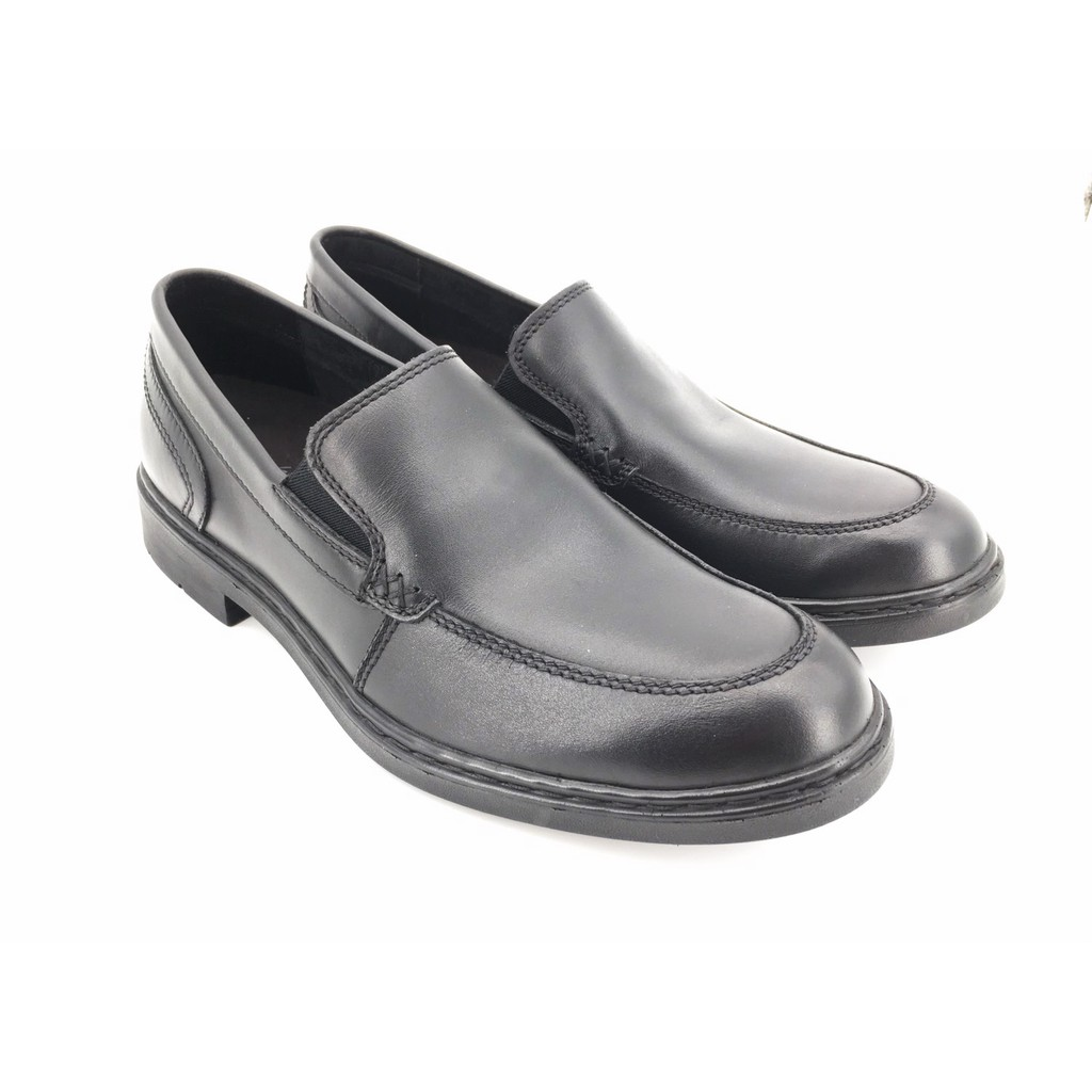 Saramanda รุ่น 177083 Gareth II รองเท้าคัชชูผู้ชาย หนังแท้ แบบสวม สีดำ
