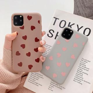 Review เคส iphone เคซิลิโคน iphone  เคส iphone 11 Heart-shapedคส iPhone11/11Pro 11pro Max X XR XS XS MAX 6 7 8 plus
