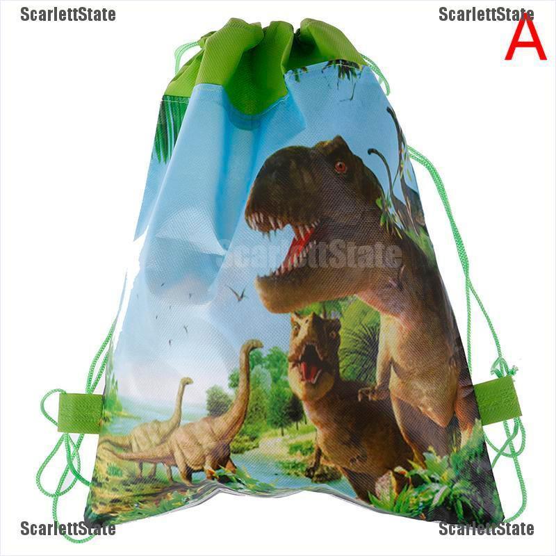 กระเป๋าเป้สะพายหลังลายไดโนเสาร์เหมาะกับการพกพาเดินทาง