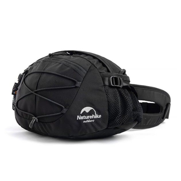 NATURE HIKE 8L WAIST BAG (BLACK)