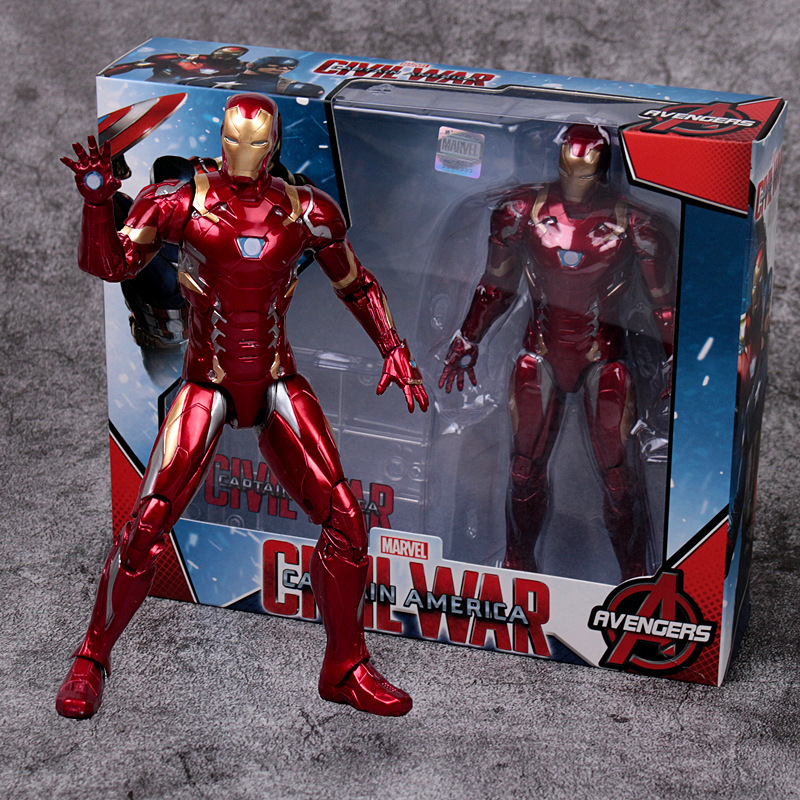 Genuine Marvel Spider-Man Model Garage Kit Avengers4Infinite War Figure Doll Toy Iron Man bpBB