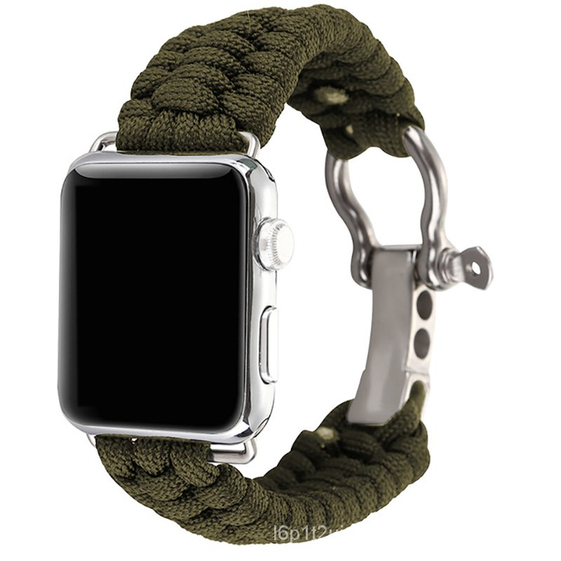 For Apple Watch Band 6 SE 5 4 3 2 1 42 mm 38mm Nylon bands Sports Wrist Strap Wristband For iWatch series 5 6 4 1 2 3 40