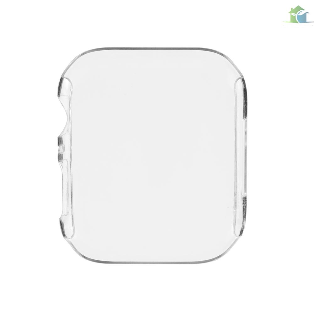 YOUP  PC Screen Protector for Apple Watch 4th Generation High-quality Plastic Protection Case Anti-Dust Protective Cover for 40mm 44mm iWatch Series 4 Smart Watches