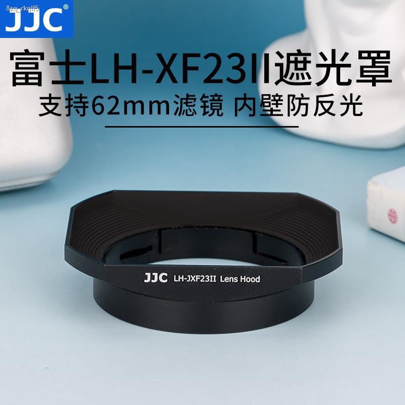 อุปกรณ์เสริมกล้อง☫JJC ใช้ Fuji LH-XF23 เลนส์ฮูด XF 23 มม. f1.4 เลนส์ 56 F1.2 R / XF56mm APD กล้อง XT30 XT3 XT4 โลหะสี่เ