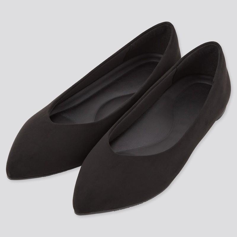 Uniqlo รองเท้าคัชชูสีดำ
