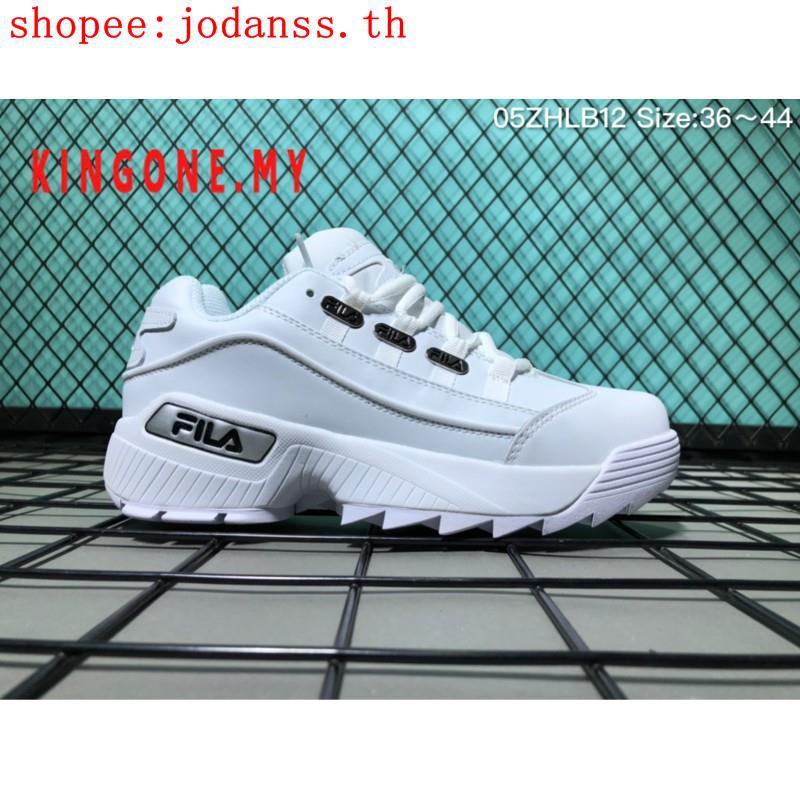 Fila DISRUPTOR II 2 รองเท้าวิ่งรองเท้าผ้าใบ 16016