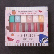ทินท์ Dear Darling สี 6 ลิป Tint ลิปสติก House เจล Etude