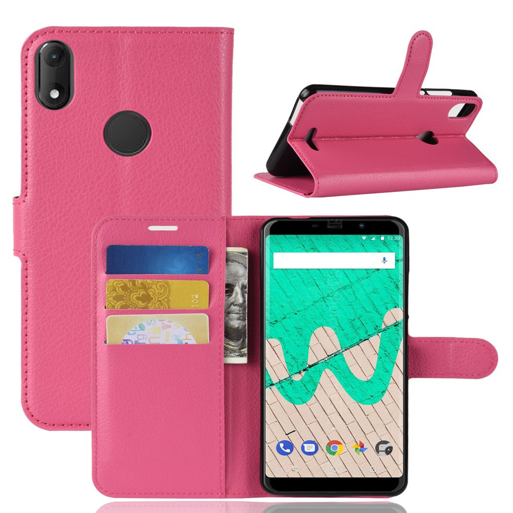 กรณี Casing Phone For Wiko View Max PU Leather Wallet Filp Phone Case Stand เคสหนัง เคสมือถือ