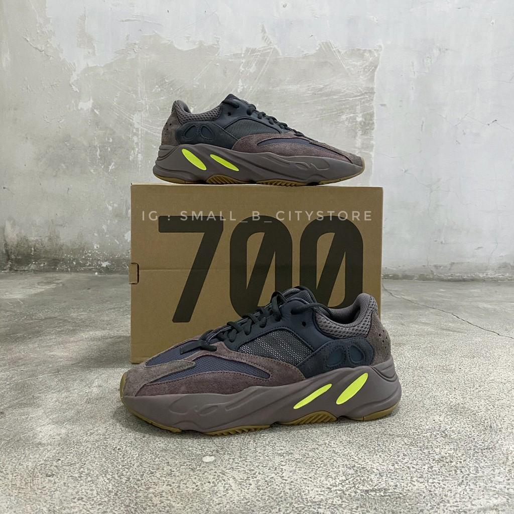 """ผู้ขายไต้หวัน ☆ทุน B น้อย☆ Adidas Yeezy Boost 700 """"Mauve"""" EE9614 限量รองเท้าอินเทรนด์ของแท้"""