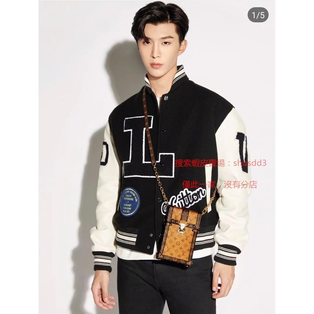 ใหม่แท้ LV LOUIS VUITTON Louis Vuitton M67873 TRUNK แนวตั้งกระเป๋าโซ่กระเป๋า Cro