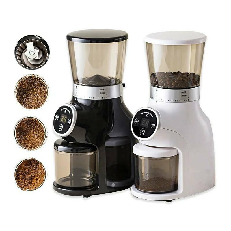 เครื่องบดกาแฟไฟฟ้า  เครื่องชงกาแฟ เครื่องทำกาแฟ สำหรับใช้ในบ้าน 🍓พร้อมส่ง