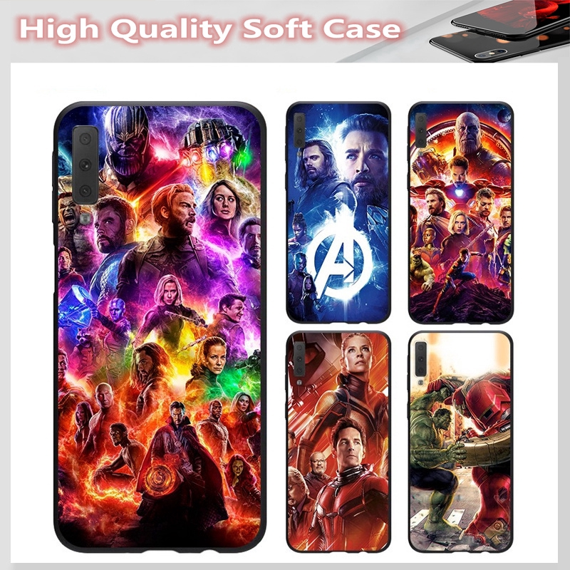 casing for SAMSUNG A2 CORE J7 Pro J7 PLUS A6 A6+ A8 A8+ A8 Star A7 A9 2018 Cover The Avengers Soft Case