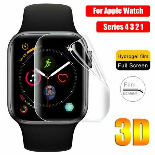 ฟิล์มกันรอย 3 D สำหรับ Apple Watch Series 5 / 4 / 3 / 2 / 1 Hydrogel Screen Protector