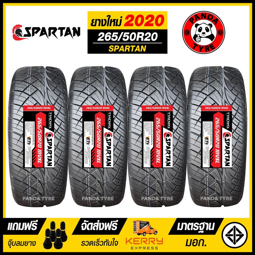 ยางรถยนต์ TRACMAX 265/50R20 (ขอบ20) รุ่น SPARTAN จำนวน 4 เส้น (ยางใหม่ปี 2020)