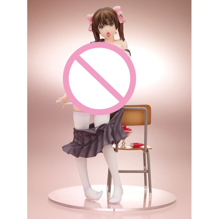 18cm Japan Anime Native Girl S Strawberry sexy girl In School Clothes 1/7 Scale PVC Model Collection Figure Dolls Toys