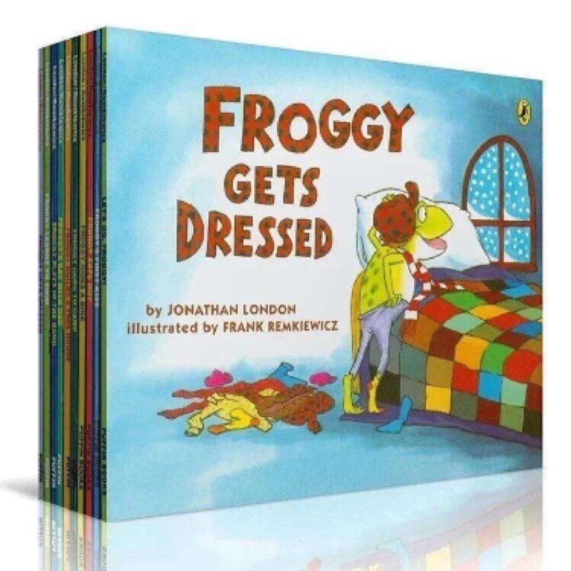 FroggFroggy Collection 10 Book Set - English Story Book