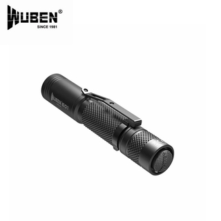 WUBEN E01100 Lumens Keychain  CREE XP-G3 LED Flashlight with AAA battery qMwu