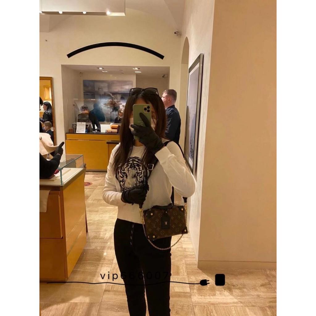 ℅ღกระเป๋ากระเป๋าเดินทาง  ซื้อ LV หลุยส์วิตตองกระเป๋าหญิงคลาสสิกสายตายหน้ากล่องกระเป๋าถือกระเป๋าสะพายไหล่ข้างเดียวกระเป๋า