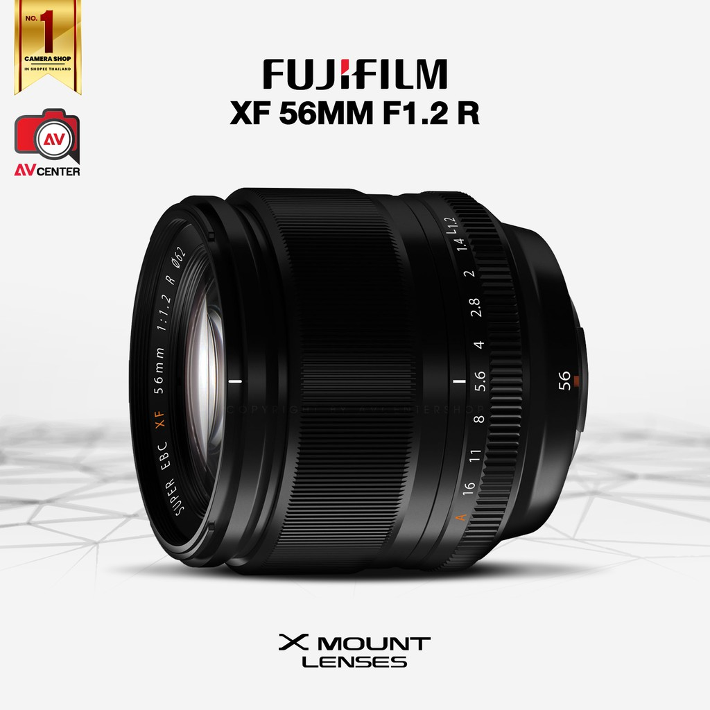 Fujifilm Lens XF 56 mm. F1.2 R  [รับประกัน 1 ปี by AVcentershop] 4PDJ