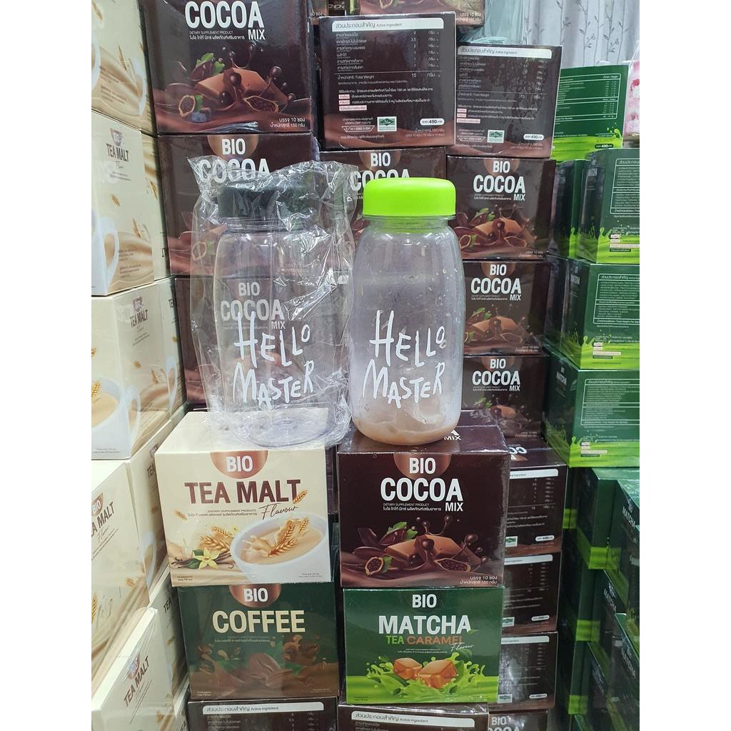 BIO Cocoa Bio coffee Bio tea malt Bio Matcha 1 แถม 2 ไบโอโกโก้ Bio Cocoa ไบโอ โกโก้มิกซ์ ไบโอคอฟฟี่ ไบโอชามอล