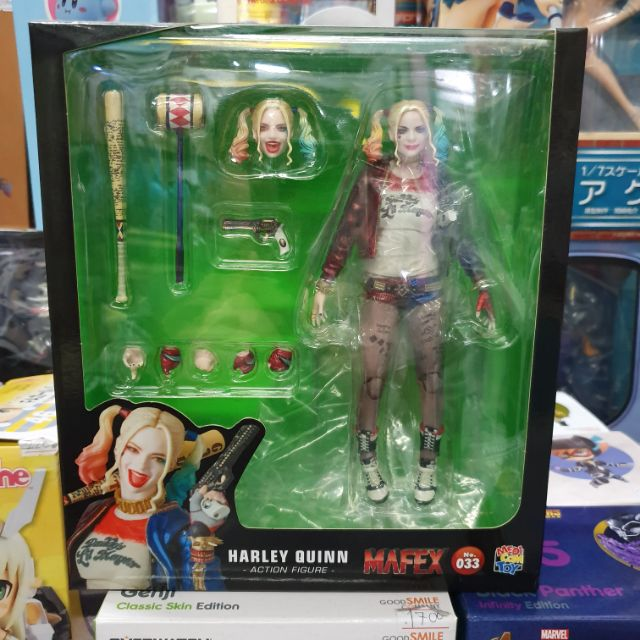 HARLEY QUINN Action Figure By MAFEX