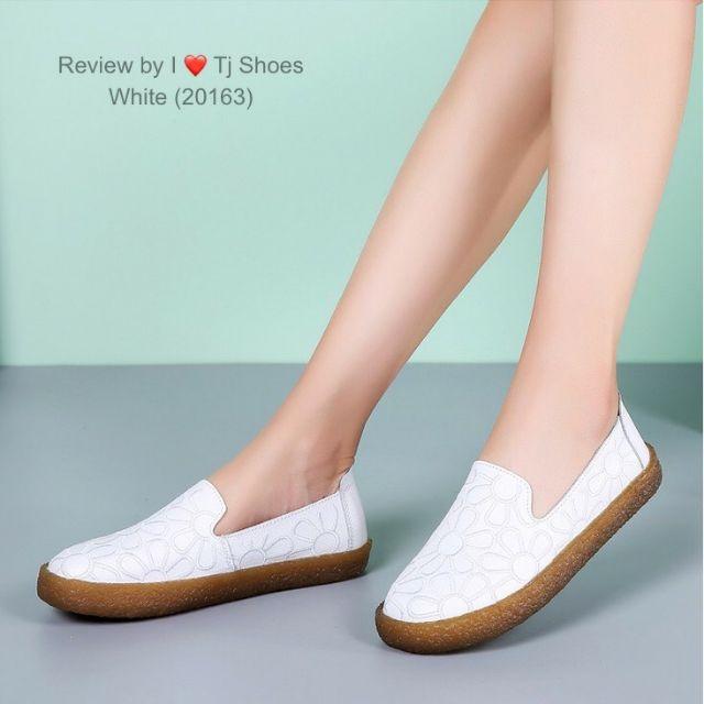 รองเท้าคัชชูเพื่อสุขภาพหนังนิ่ม