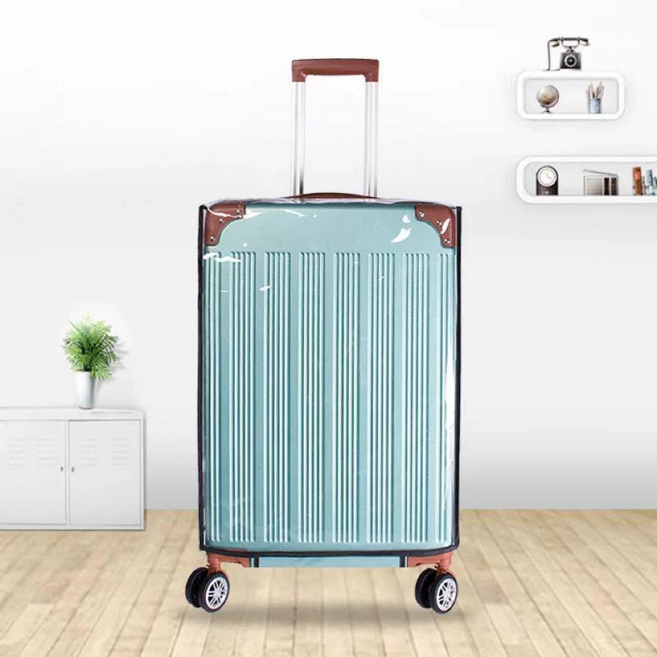 ผ้าคลุมกระเป๋าเดินทางแบบหนา 20 เคส 24 สีใส 26