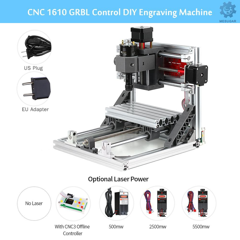 CNC Machine 1610 CNC Router With 500mw Laser Engraver /& Offline Control