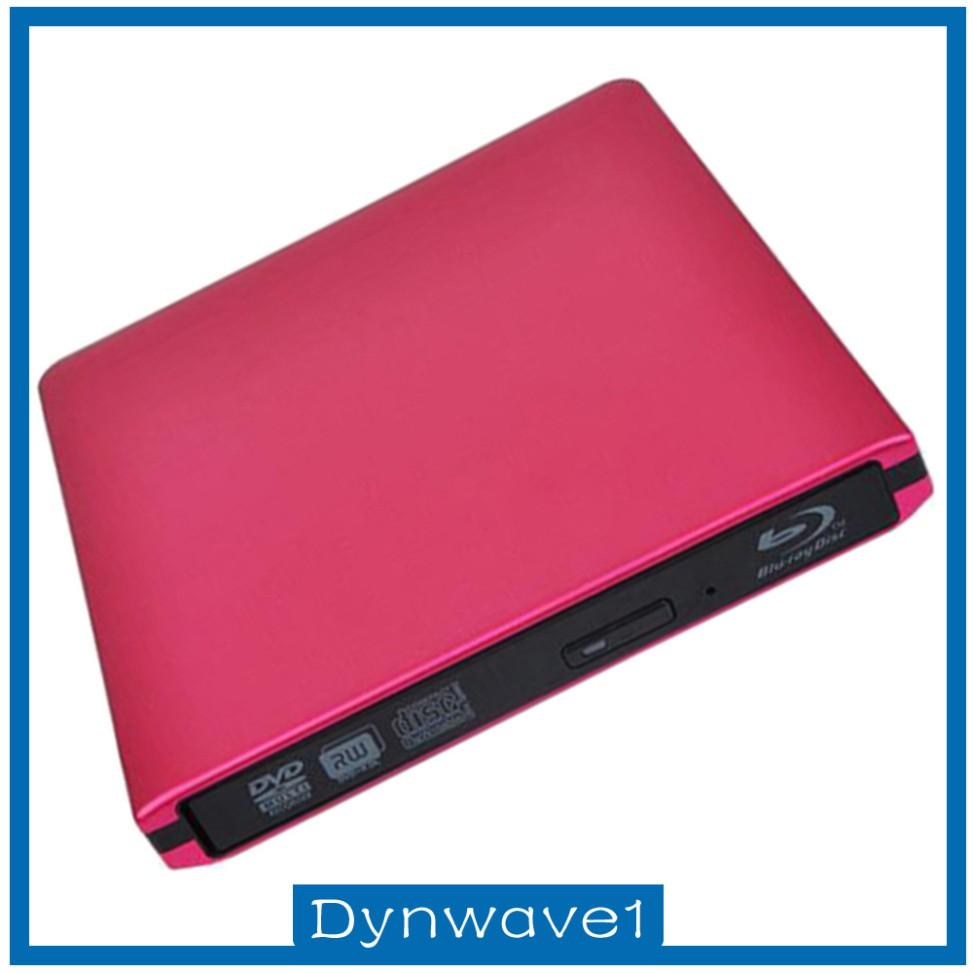 ( Dynwave1 ) ดิสก์เครื่องเล่น Usb3 . 0 External Blu - Ray Drive Dvd / Cd Burner สําหรับคอมพิวเตอร์แล็ปท็อป , สีดํา