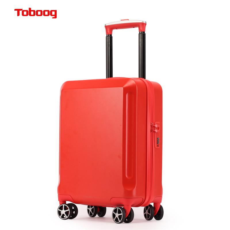 ⌘❄ กระเป๋าเดินทางล้อลากใบเล็ก กระเป๋าเดินทางล้อลากกรณีรถเข็นToboog/วิธีที่จะช่วยให้กระเป๋านักเรียนหญิงสามารถขึ้นตัวถังน่