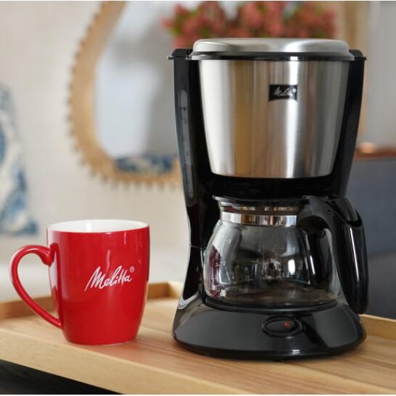 Melaleuca drip home เครื่องชงกาแฟแบบอเมริกัน MKM533 เครื่องชงกาแฟไฟฟ้าแบบทีละขั้นตอนเครื่องทำชานมหุ้มฉนวนสแตนเลสสำหรับกร