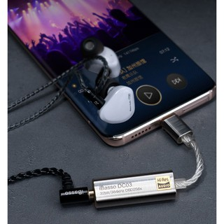 iBasso DC03 USB DAC Portable Headphone Amp Adapter TYPE-C to 3.5