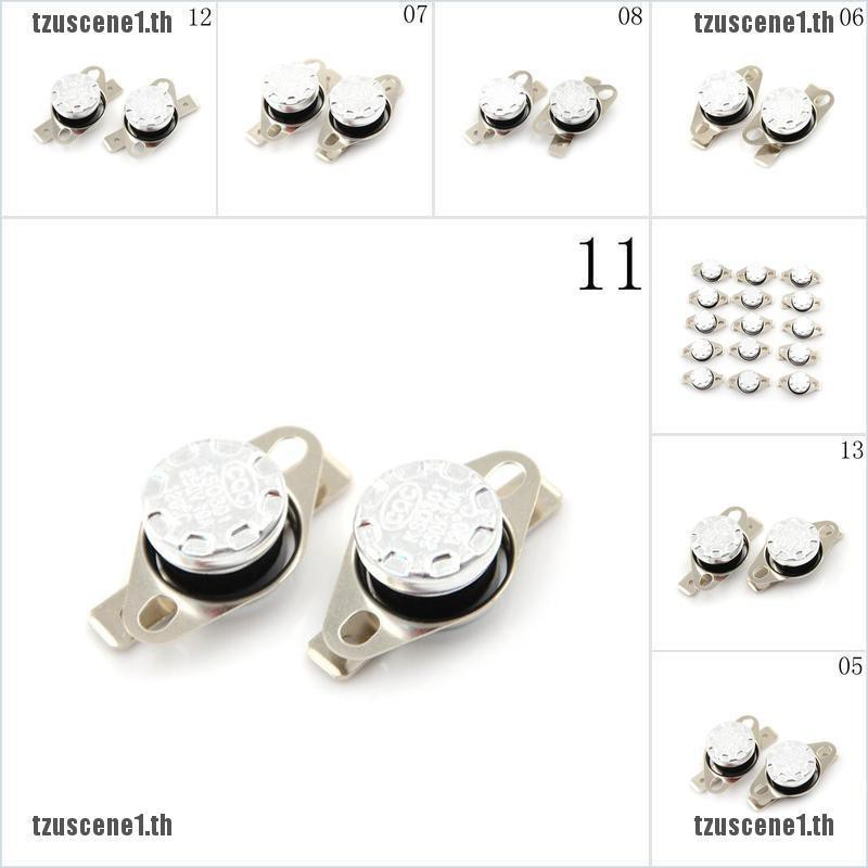 10A 250V KSD301 40°C~160°C Thermostat Temperature Thermal Control Switch