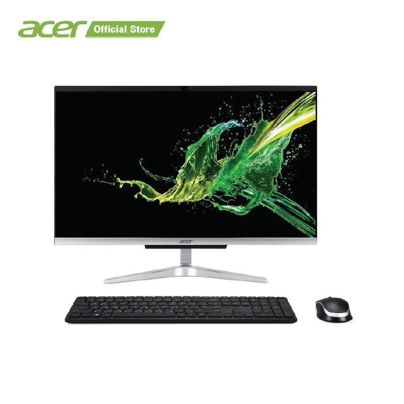 Acer Aspire C22-960/T003 All In One คอมพิวเตอร์ออลอินวัน 21.5inch i5-10210U RAM8GB HDD1TB+SSD256GB UMA W10