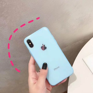Image # 2 of Review เคสเอฟเฟคเเก้ว สีสันสดใส สำหรับ  iPhone 11 pro max i11 6 6 S 7 8 Plus X XR XS Max phone Case