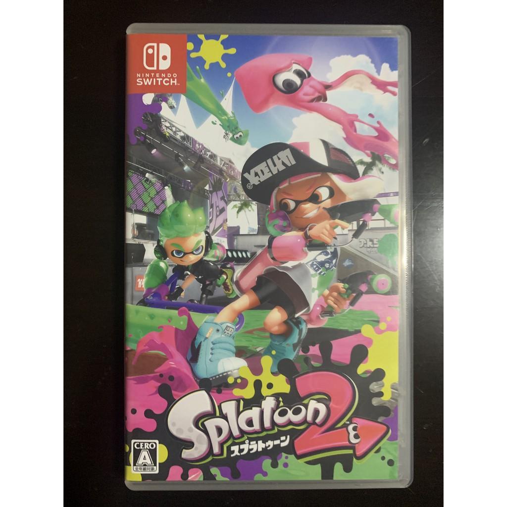 Splatoon 2 Nintendoswitch gameมือ2มือสอง Nintendoswitch game มือสอง Splatoon2 Nintendosw