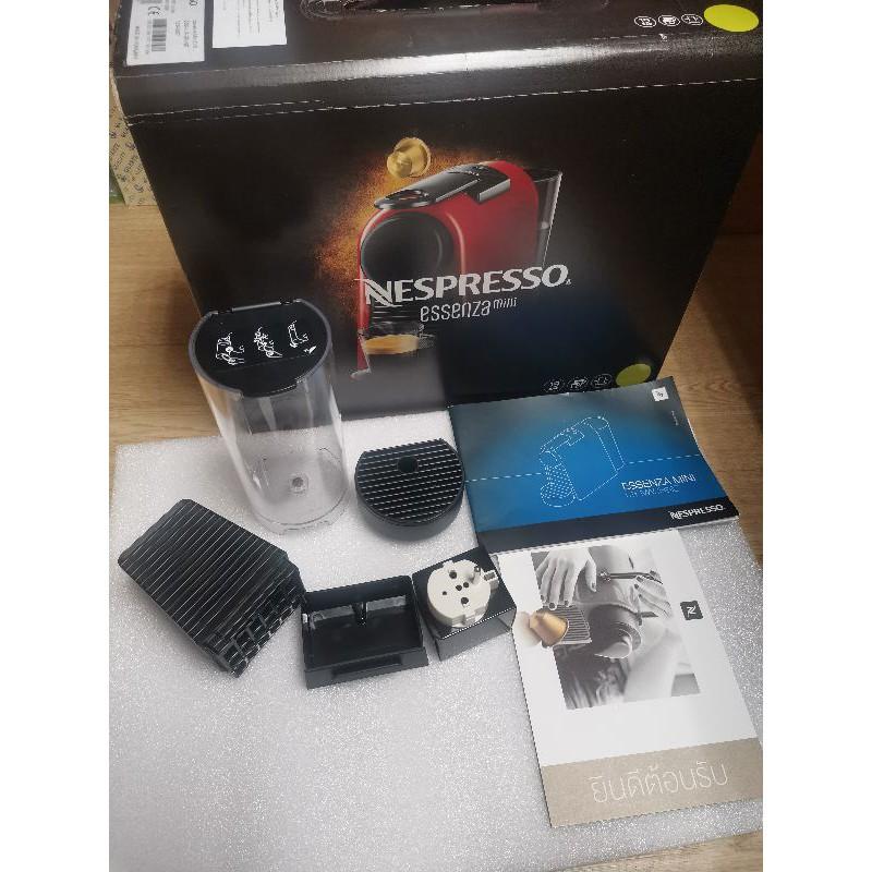 แทงค์น้ำ + ฐานรองแก้วกาแฟ และอะไหล่อื่นๆ ของเครื่องทำกาแฟ Nespresso Essenza Mini