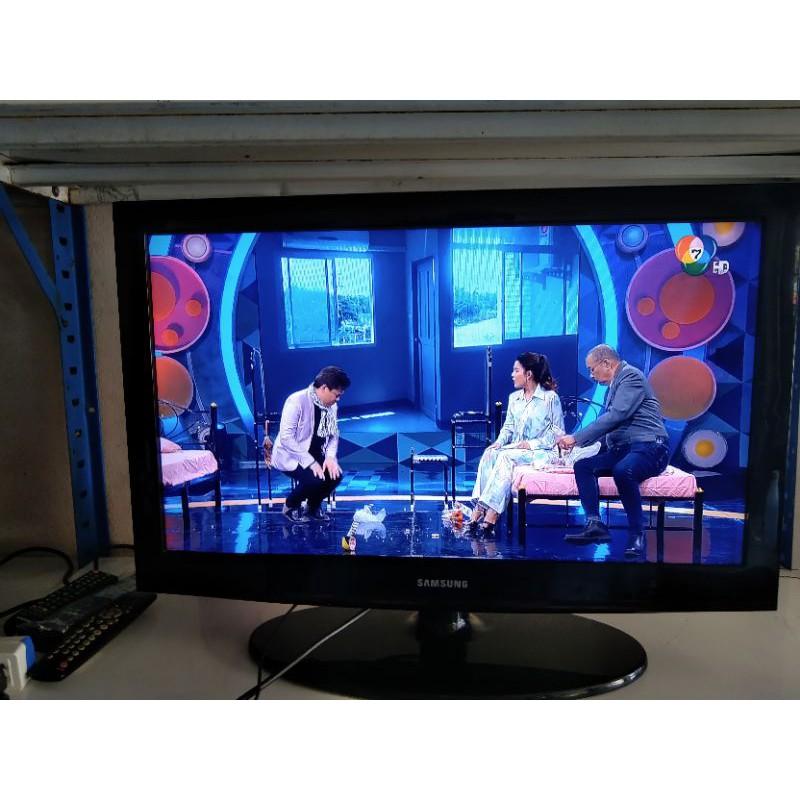 ทีวี  32 นิ้ว LCD  samsung  มือสองราคาถูก    สินค้าราคาถูก