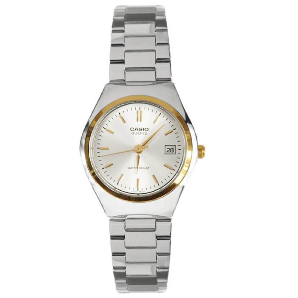 จัดส่งฟรีนาฬิกา รุ่น Casio นาฬิกาข้อมือผู้หญิง สายสแตนเลส สีเงิน รุ่น LTP-1170G-7A ( Silver ) จากร้าน MIN WATCH
